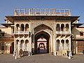 La Porte monumentale Rajendra Pol (City Palace, Jaipur) (8487578616).jpg