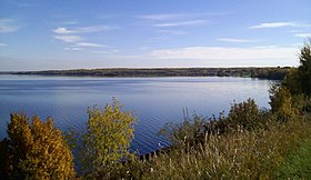 The southern shore from Lac La Biche