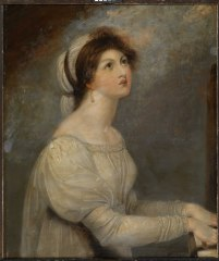 Lady Hamilton as Saint Cecilia