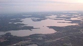 Lake Minnetonka - Image: Lake Minnetonka aerial