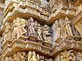 Lakshmana Temple Western Group of Temples Khajuraho India - panoramio (9).jpg