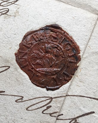 Lalinok - First seal of Lalinok, 18th Century