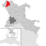 Lamprechtshausen in the SL.png district