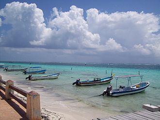 Puerto Morelos - Image: Lanchas de Pto.Morelos