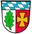 Coat of arms of Aichach-Friedberg