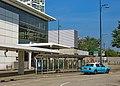 Lantau taxi stand at Tung Chung Station (Hong Kong).jpg