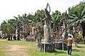 Large Hindu and Buddhist concrete statues in Buddha Park (14524545774).jpg
