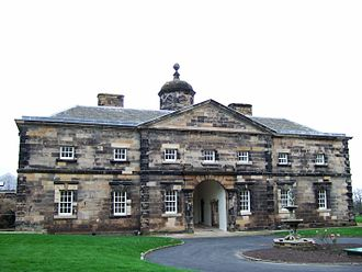 Lathom House - The surviving West Wing of Lathom House
