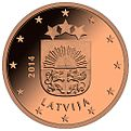 Lettland 2 Cent