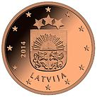 Lettland 5 Cent