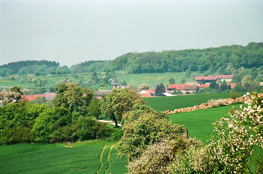 Launstroff, view to the village
