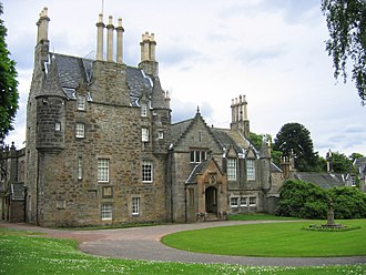 Lauriston Castle - Lauriston Castle from the south