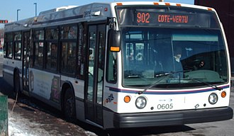 Société de transport de Laval - Image: Laval STL Bus