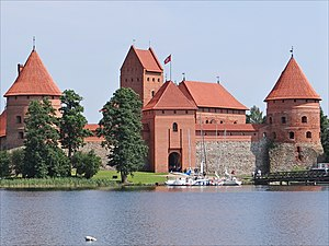 Gothic architecture in Lithuania - Trakai Island Castle