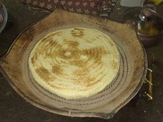 Chaoui people - Chaoui bread.
