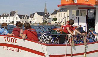 Loctudy - Image: Le passeur, île Tudy Loctudy 2006