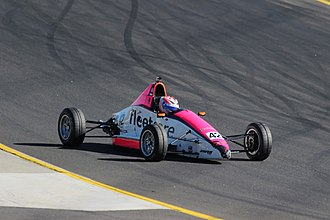 Leanne Tander - Tander (Mygale SJ10a) placed 10th in the 2015 Australian Formula Ford Series.