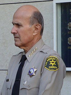 Lee Baca American law enforcement officer