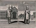 Left, a young man avoiding being burnt at the stake for here Wellcome V0041638.jpg