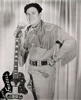 Lefty Frizzell Country music singer-songwriter