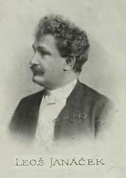 Leoš Janáček 1899 körül
