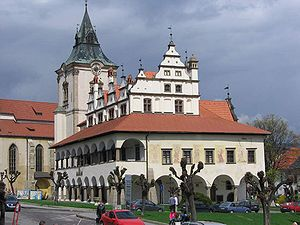 Levoca old townhall