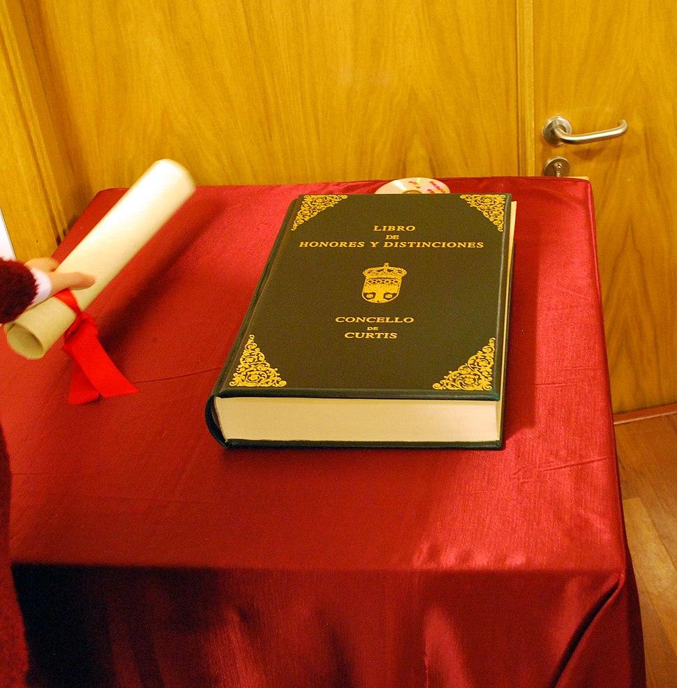 Libro de Honra do Concello.