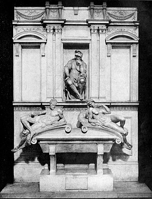 Medici Chapel - Image: Life of Michael Angelo, 1912 Monument of Lorenzo de Medici