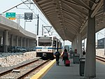 Light Rail at BWI Airport station, June 2003.jpg