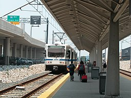 Light Rail at BWI Airport station, June 2003