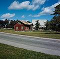 Lilla Ängby gård och Ängby kyrka, 1966.jpg