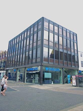 Sam Scorer - Barclays Bank, Cornhill, Lincoln
