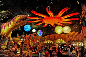 T-Rex (restaurant) - T-Rex Cafe Disney Springs.