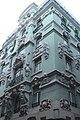 Lissabon, Haus an der Ecke Rua da Conceição und Rua do Crucifixo.JPG