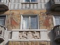 Listed building ID -8313. Sgraffito (middle). - 57, Kiss János street, Budapest District XII.JPG