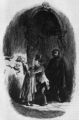 Little Dorrit - Mr Flintwinch has a mild attack of irritability