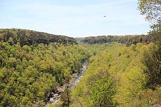 Little River Canyon National Preserve - Little River Canyon