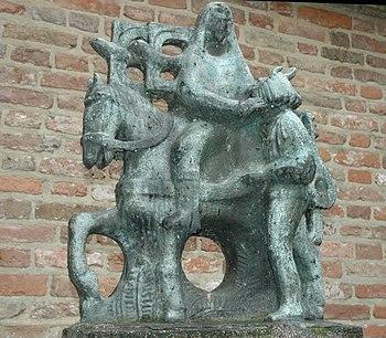 Liudger's statue