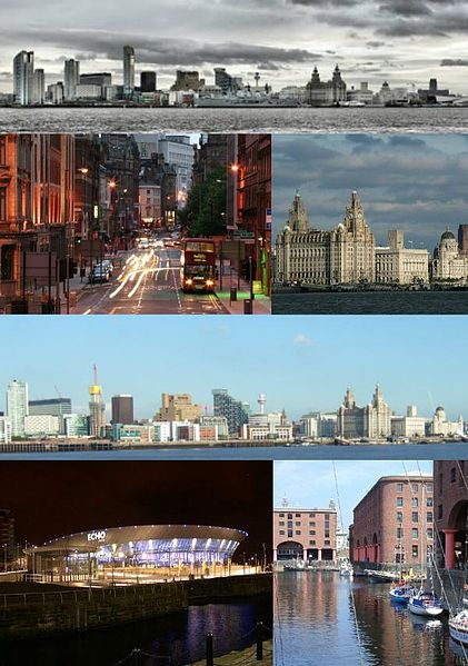 Montage of Liverpool via Creative Commons