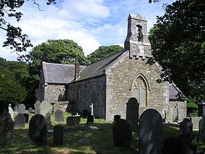 Llanrhos - Image: Llanrhos Church P7010266