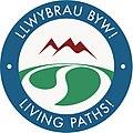 Llwybrau Byw! Living Paths! New Logo Regular 300 210108.jpg