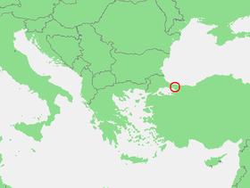 Localización del Bósforo .