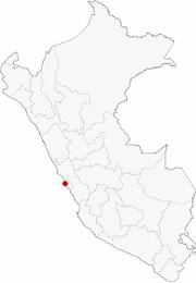 Location in Perú