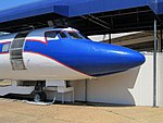 Lockheed Jetstar Hound Dog II Graceland Memphis TN 2013-04-01 016.jpg