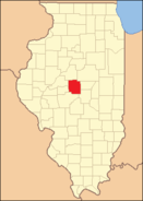 Logan County Illinois 1845