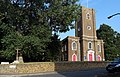 London-Woolwich, St Mary Magdalene Church & crucifix 2.JPG