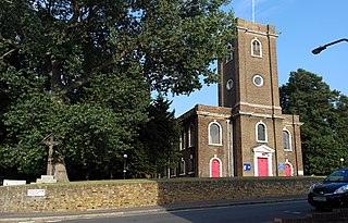 St Mary Magdalene Woolwich Church in London