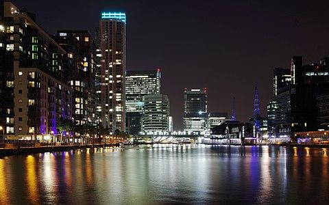 Millwall Dock, London