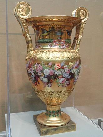 Londonderry Vase - Image: Londonderry Vase, 1813, Sèvres Porcelain Manufactory Art Institute of Chicago DSC09487