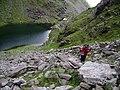 Looking NE from foot of Bro O'Shea's Gulley over Loch Coimin Uachtarach - geograph.org.uk - 539223.jpg